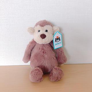プティマイン(petit main)のjellycat  定番人気 バシュフルモンキーS 新品(ぬいぐるみ/人形)