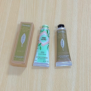 L'OCCITANE - ロクシタン 新発売グリーンティ 人気ヴァーベナアイスハンドクリーム2本セット新品