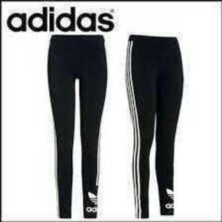 adidas - アディダス レギンス ロゴレギンス adidas L