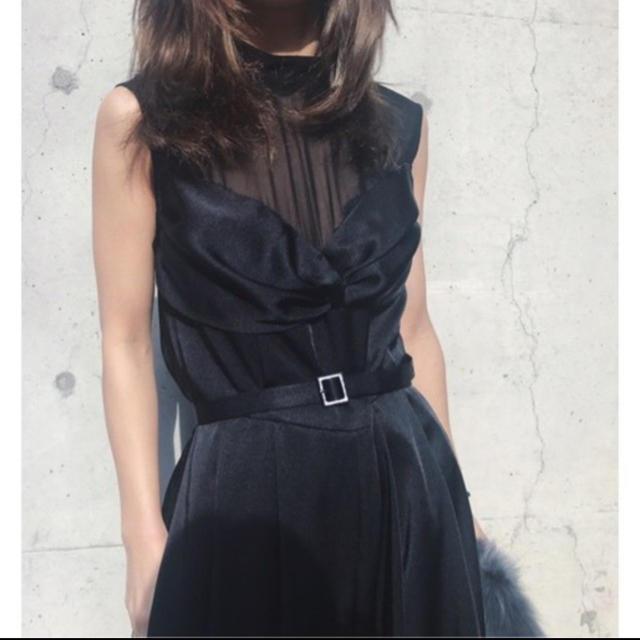 Ameri VINTAGE(アメリヴィンテージ)のアメリヴィンテージLADY BUSTIER ROMPERS DRESS レディースのワンピース(ロングワンピース/マキシワンピース)の商品写真