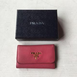プラダ(PRADA)のPRADA プラダ キーケース ピンク(キーケース)