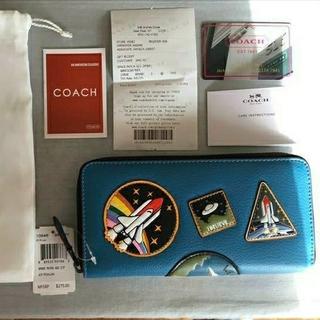 COACH - 「新品未使用」コーチ F10846 メンズ NASA スペースパッチワーク
