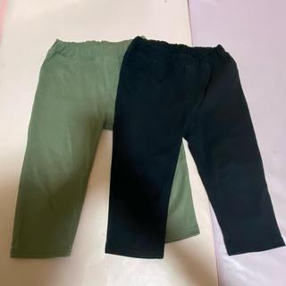 MUJI (無印良品) - 無印良品 MUJI 子供服 ハーフパンツ レギンス 120 セット男の子 女の子