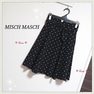 MISCH MASCH - MISCH MASCH*ドットフレアスカート