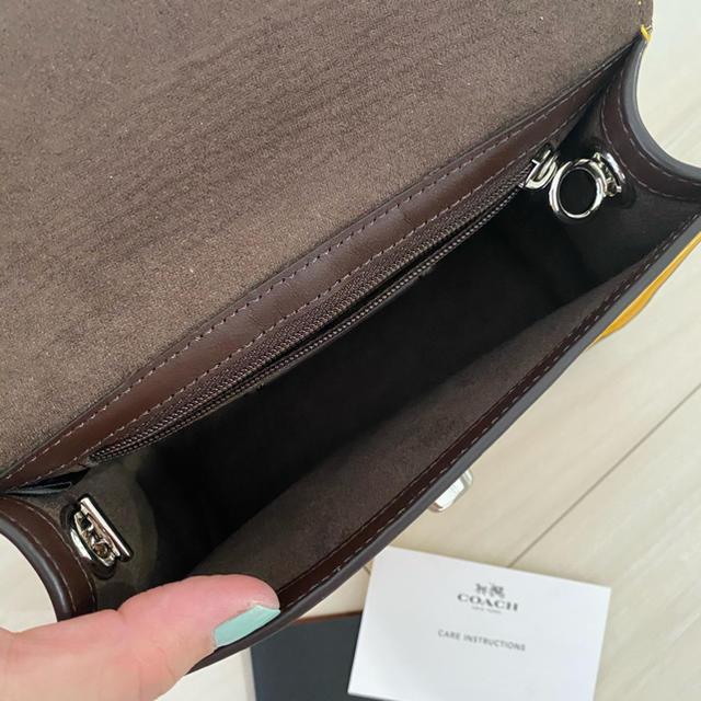 COACH(コーチ)のcoach ミニショルダーバッグ 新品 レディースのバッグ(ショルダーバッグ)の商品写真