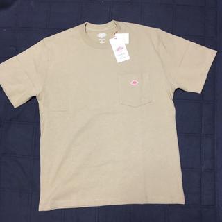 ダントン(DANTON)の【新品】DANTON  Tシャツ ベージュ(Tシャツ/カットソー(半袖/袖なし))