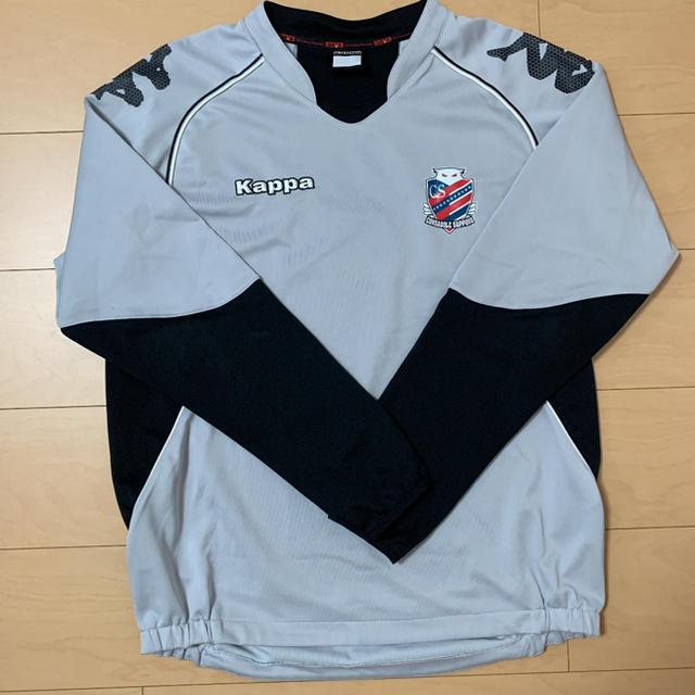 Kappa(カッパ)の【kappa】カッパ コンサドーレ札幌 トレーニングトップ スポーツ/アウトドアのサッカー/フットサル(ウェア)の商品写真