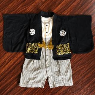 ベルメゾン(ベルメゾン)のベルメゾン 袴ロンパース 男の子 70 お食い初め 初節句(和服/着物)