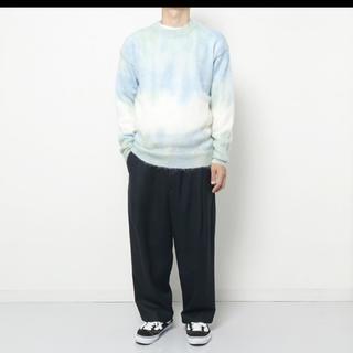 COMOLI - auralee 19awsuper kid mohair tyedye knit