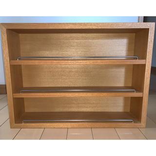 MUJI (無印良品) - 壁に付けられる家具コレクションボックス