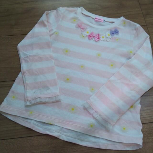 mikihouse(ミキハウス)のミキハウス ロンT 110 キッズ/ベビー/マタニティのキッズ服女の子用(90cm~)(Tシャツ/カットソー)の商品写真