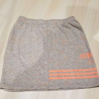 アディダス(adidas)のアディダス スエットスカート お値下げ中(ひざ丈スカート)