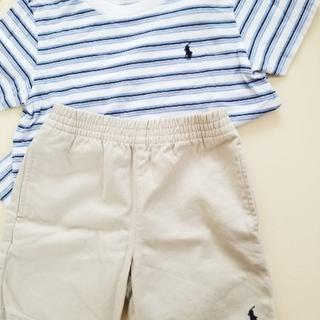 POLO RALPH LAUREN - POLO RALPH LAUREN2点セット、Tシャツ、短パン、ブランド、ポロ