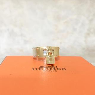 エルメス(Hermes)の正規品 エルメス 指輪 ケリー カデナ コンビ 金銀 ゴールド カギ リング 2(リング(指輪))