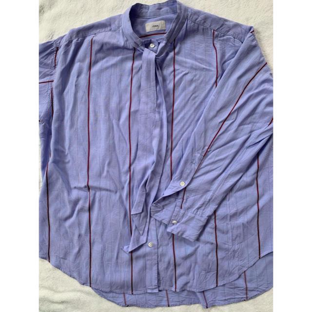 IENA(イエナ)のストライプボウタイシャツ レディースのトップス(シャツ/ブラウス(長袖/七分))の商品写真
