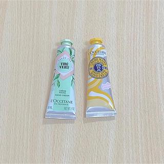 L'OCCITANE - ロクシタン 新発売グリーンティ 限定品ジャスミン シアハンドクリーム2本セット
