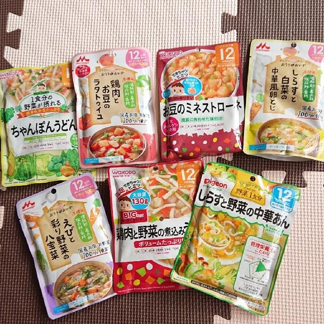 ベビーフード 12ヶ月 キッズ/ベビー/マタニティの授乳/お食事用品(その他)の商品写真