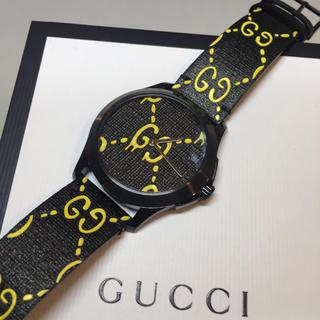 グッチ(Gucci)の☆新品☆GUCCI ゴースト 腕時計 クォーツ GG柄(腕時計(アナログ))