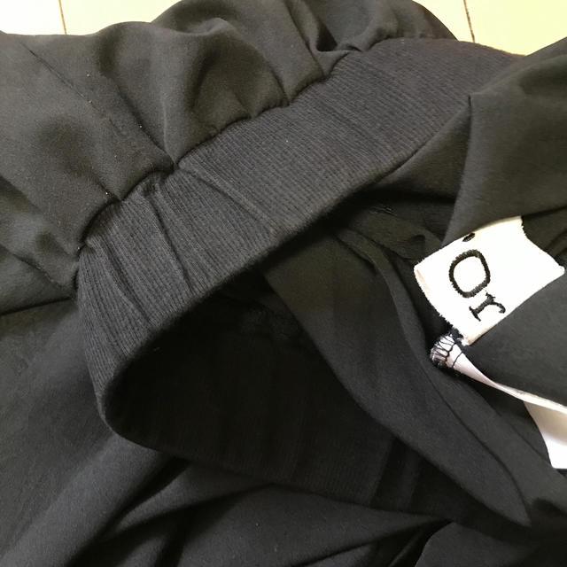 n'Or  オシャレウォーカー アシメプリーツサルエルパンツ レディースのパンツ(カジュアルパンツ)の商品写真