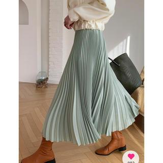 dholic - pleats flare pants♡