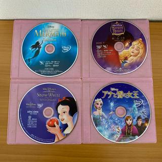 Disney - 【送料無料】ディズニープリンセス DVD 4作品セット/日本国内正規品