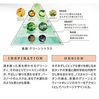 L'OCCITANE - Newグリーンティ☆ロクシタン ポータブルオードトワレ&ハンド