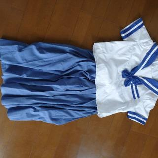 中学校夏用セーラー服