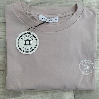 ALEXIA STAM - アリシアスタン alexiastam Tシャツ ピンク