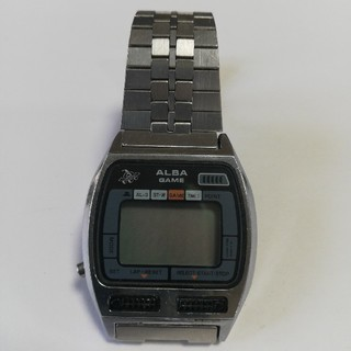 アルバ(ALBA)の【レトロ】ALBAゲームウォッチ(ジャンク品)(腕時計)