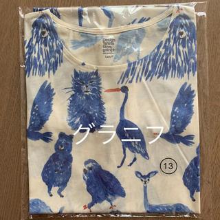 Design Tshirts Store graniph - グラニフ チュニック フリーサイズ