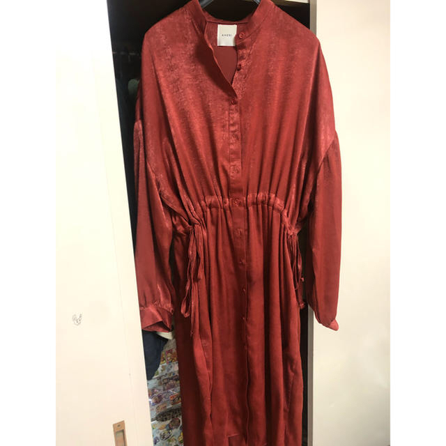 Ameri VINTAGE(アメリヴィンテージ)のAmeri Vintage  ガウンシャツワンピース レディースのワンピース(ロングワンピース/マキシワンピース)の商品写真