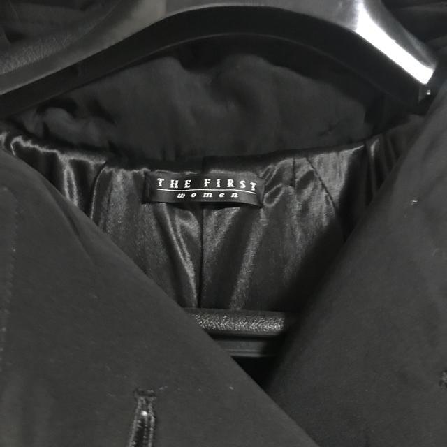 THE FIRST(ザファースト)のTHE FIRST women ロングコート【最終値下げ】 レディースのジャケット/アウター(ロングコート)の商品写真