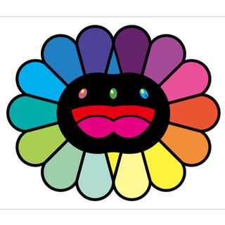村上隆 版画 Multicolor Double Face: Black(版画)