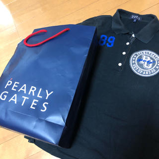 PEARLY GATES - パーリーゲイツ 半袖ポロシャツ PEARLY GATES サイズ0 レディース