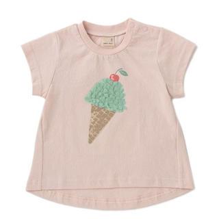 petit main - 新品 プティマイン アイスモチーフ 半袖Tシャツ