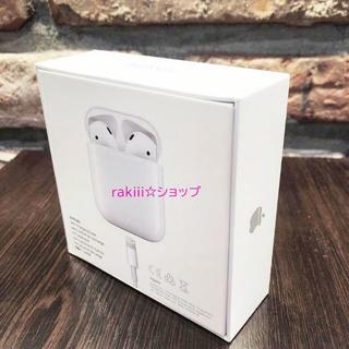 Apple - APPLE アップル AirPods2 エアポッズ 第2世代