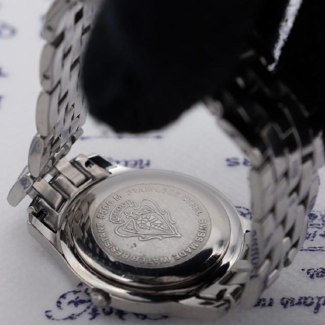 Gucci(グッチ)の正規品【新品電池】GUCCI 5500M/人気モデル 動作品 ブラック メンズの時計(腕時計(アナログ))の商品写真