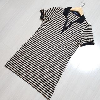バーバリー(BURBERRY)のBURBERRY London ボーダーポロシャツ(Tシャツ(半袖/袖なし))