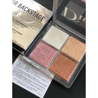 ディオール(Dior)のディオール バックステージ フェイス グロウ パレット 001(フェイスカラー)