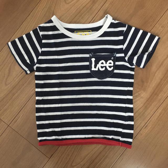 Lee(リー)のLee キッズTシャツ【100】 キッズ/ベビー/マタニティのキッズ服男の子用(90cm~)(Tシャツ/カットソー)の商品写真