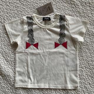 コドモビームス(こどもビームス)の【新品未使用タグ付き】クランボン 90 Tシャツ(Tシャツ/カットソー)