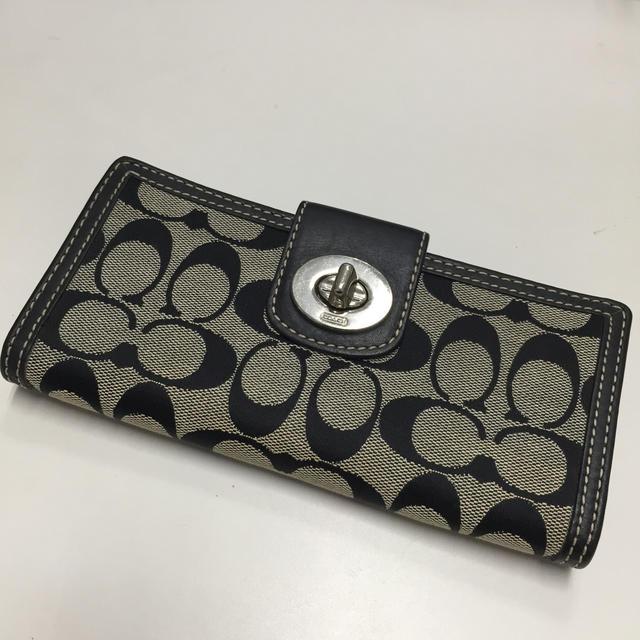 COACH(コーチ)のCOACH コーチ 長財布 レディースのファッション小物(財布)の商品写真