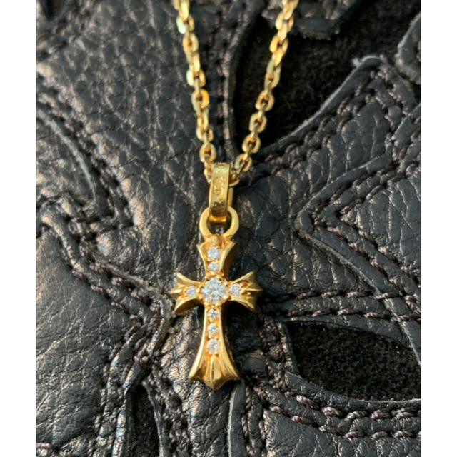 Chrome Hearts(クロムハーツ)の22k baby fat pave diamond クロムハーツ ベビーファット メンズのアクセサリー(ネックレス)の商品写真