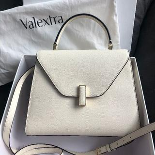 Valextra - ヴァレクストラ イジィデミディアム ホワイト