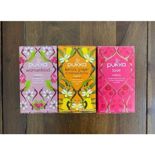 新品 PUKKA パッカ ハーブティー 3箱セット(計60包)(茶)