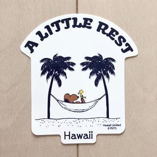PEANUTS - ハワイ限定 モニ 日焼けスヌーピー ステッカー ハワイ moni スヌーピー