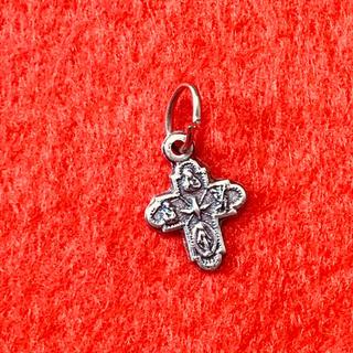イタリア製  小さな小さな十字架パーツ(各種パーツ)