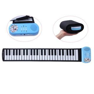 ◇ 電子ピアノ ロールピアノ 49鍵 折畳  楽器  練習 日本語説明書付き ◇(電子ピアノ)