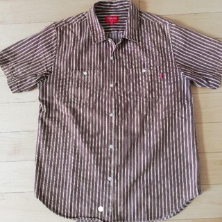Supreme - supreme 17ss stripe denim shirt