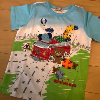 mikihouse - mikihouse キラキラtシャツ 110